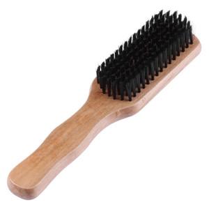 1 قطعة خشبية مشط شعر مستعار فرشاة الشعر الخشن الخشن + الخشب + البلاستيك ممتازة الشعر التمديد فرشاة عالية الجودة دائم الاستاتيكيه