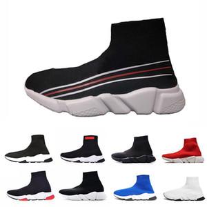 Chaussures Balenciaga sock shoes Transporte da gota de velocidade Trainer Running Meias Sapatos Preto Branco Vermelho Azul Moda Plana Formadores Casual Runner Sports Sneakers