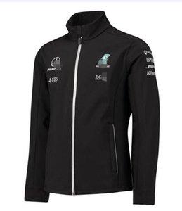 Новая Amg Formula One F1 Team / Soft Shell Jacket Fan Version Of Motorcycle Riding Racing Suits Теплые Свитера Ветрозащитные И Теплые