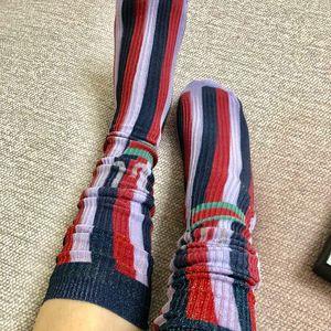 Personality Hip Hop Women Sock Outdoor Casual Skateboard Socks for Girls High Street Cotton Socks 3 Styles