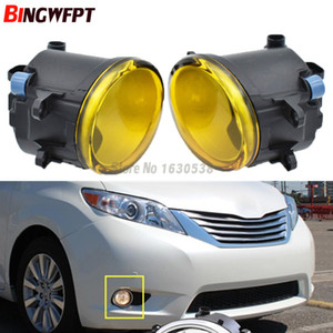 2pcs set (Left + right) Car Styling High quaity Halogen Lamps Fog Light for Sienna 2011-2017