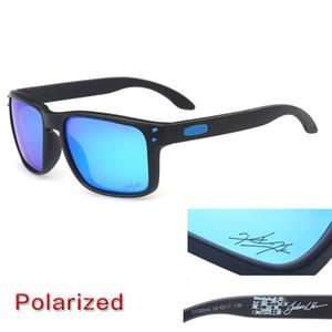 occhiali da sole di design di lussooakleyocchiali da sole 9102 mens occhiali da sole polarizzati di guida colorato HD Protezione UV di moda Invia un caso Carry