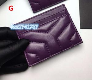 상자 우수한 품질과 남여 여성 남성 신용 카드 가방에 대한 실제 양피 지갑 카드 홀더에서 만든 새로운 패션