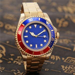 Luxus-Frauen-Uhren Keramik-Lünette Herren Quarz-Edelstahl-automatischer Bewegungs-Uhr-Sport Selbst Wind Designer Armbanduhr männliche Uhr