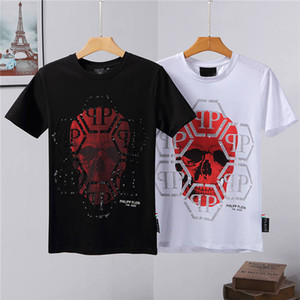 2020 t-shirt Philip Plain uomini di estate manica corta Fashion TShirt estate T-shirt casuale Skull T-shirt di alta qualità degli uomini di estate T