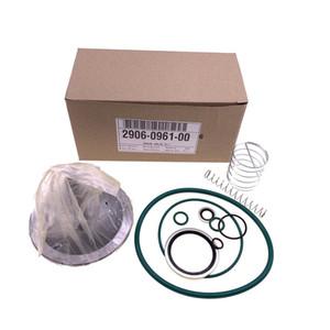 Ücretsiz kargo 2pcs / lot 2906096100 (2906 0961 00) alternatif check valf kiti / AC vidalı hava kompresörü yağ kesme vanası kiti