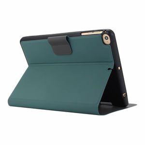 Tasarımcı Lüks iPad Durumda iPad Mini 1 2 3 4 5 Vintage Izgara Durumda PU Deri Tablet Kapak Için iPad Air 10.5 10.2 Pro 12.9 inç Arka Kapak
