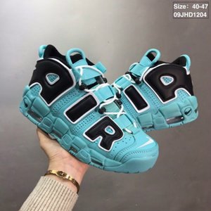 01 2019 New 96 QS Olímpico Varsity BARRAGE Mens Running Shoes 3M Scottie Pippen Mais Uptempo Chicago Trainers Sneakers Esportes Tamanho: 36-46