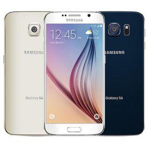 DHL 1PC Teléfono Core 3 GB de RAM 32 GB ROM 16.0MP móvil 4G LTE Octa reformado original para Samsung Galaxy S6 G920F G920A G920V G920T G920P 5,1 pulgadas