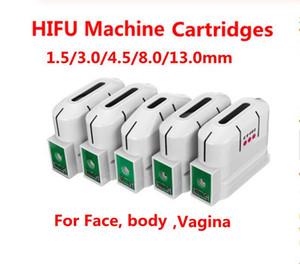 HIFU remplacement des cartouches 10000 Tirs à ultrasons focalisés de haute intensité HIFU machine visage lifting de la peau Removal rides Anti vieillissement