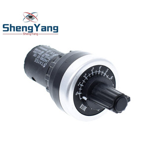 TZT LA42DWQ-22 1K 2K 5K 10K 22mm Diamètre Pots Rotary Potentiometer Converter Gouverneur onduleur Résistance Commutateur