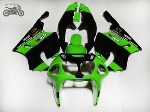 Kawasaki Ninja ZX7R 1996-2003 ZX7R 96 97 98 99 00 03 ABS Plastik motosiklet grenaj kaporta için ücretsiz Custom Çin Fairing kiti