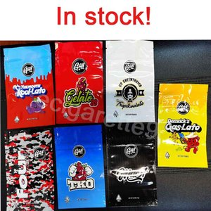 Gasco Zipper Bag Retail Package YUKMOUTH KOOI-LATO Mylar Bag 3.5g 1 8oz Storage Packaging for Dry Herb Tobacco Flower California Gas Co