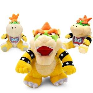 Super Mario Bros Plush Toys 18-24cm Bowser JR Koopa Bowser Dragon Plush Doll Brothers Soft Plush Pet Supplies