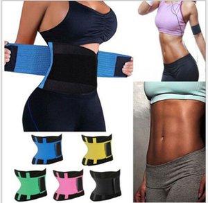 Más vendidos Body Shapers Unisex Waist Cincher Trimmer Tummy Cinturón de adelgazamiento Látex Entrenador de cintura Para hombres Mujeres Postparto Corsé Fajas