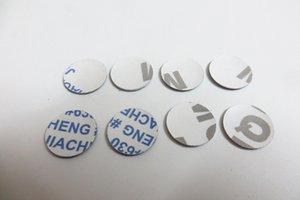 BMW M Katlama Keys için Audi açısından Volkswagen VW Skoda 50pcs / lot 3D 10mm 11mm 12mm Kristal Araç logosu Anahtar amblemi düğmesi Çıkartma