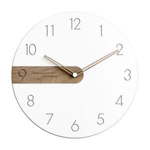 Reloj de pared del diseño moderno de la sala de decoración de pared Relojes Decoración sola cara aguja relojes de cuarzo para el hogar