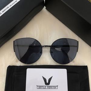 2019 Cat Donne Classic Eye Sunglasses Gentle mostro Moda Cateye Occhiali da sole Retro signora Sunglasses GM scatola originale pacchetto
