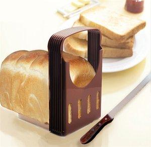 DHL pane tostato taglierina affettatrice pagnotta di pane Cutter Sandwich affettare attrezzo di piegatura della Macchina per il pane pieghevole e regolabile accessori da cucina