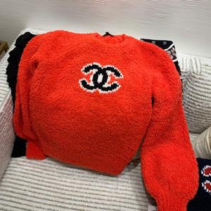 inverno luxo high-end de malha suéter de lã marca de moda feminina