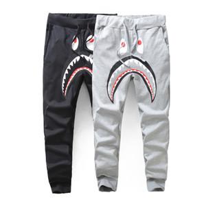 Bape Hommes Pantalons Styliste de mode Bape Hommes de haute qualité Casual Sweatpants Hommes Styliste Pantalon noir gris Taille M-2XL