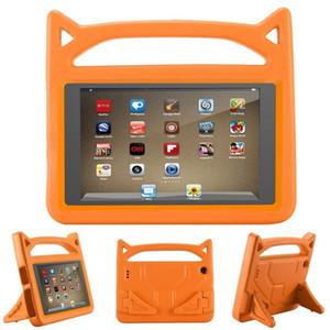 Caso à prova de choque crianças para iPad Mini 56 novo iPad 9,7 Kindle Fire suporte HD7 HD8 EVA suave espuma espessa Titular Tampa