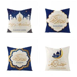 Yastık Kılıfı Ramazan Müslüman Stil Yastık Yastık Kapak Ev Yatak Koltuk Sandalye Kullanım Dekor Popüler Toptan 4 5jza H1 yazdır
