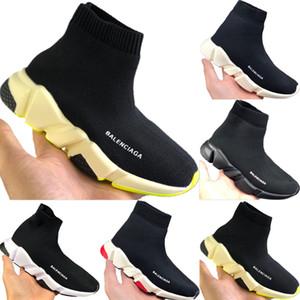 2020 Çocuk Hız Stretch Örme Yüksek Top Nefes Spor Çorap Çizme Originals Çocuklar Hız Tampon Kauçuk Trainer Ayakkabı