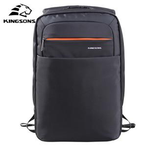 Kingsons опрятный стиль подросток школьник рюкзак унисекс большой емкости мешок компьютера для 15,6-дюймовый ноутбук водонепроницаемый мешок