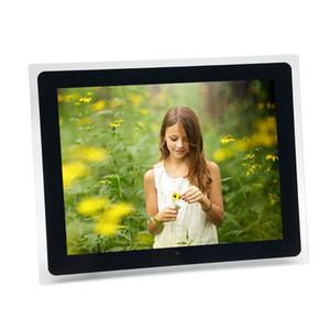 12-дюймовая ЖК-многофункциональная Цифровая фоторамка с MP3/MP4-плеером Видеоплеер