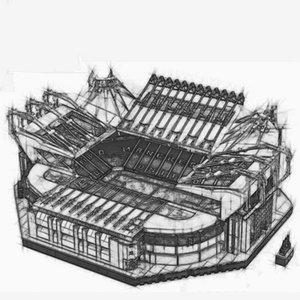 2020 الجديد 10272 أولد ترافورد مانشستر 3908PCS الخالق مدينة شارع عرض نموذج البناء مجموعات كتل الطوب ألعاب أطفال هدية المدعم 10202
