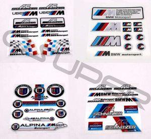 À la mode, facile à utiliser, facile à enlever pour BMW voiture costume personnalité modification de la voiture autocollant fournitures de modification de voiture