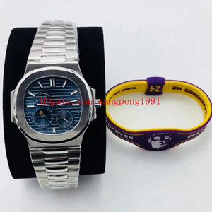 RF 8 High Best Quality Men's Luxury Watch Nautilus 5712 5712R 5711 5712   1A 324c Movement Sapphire Glass Mechanical 316L Men's Watches
