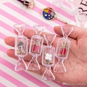 sacs roses stuff Sugao forme de bonbons transparents mini-boîte de rangement ins boucles d'oreilles Voyages portables boîte de bijoux bague de gros min paquets 2020