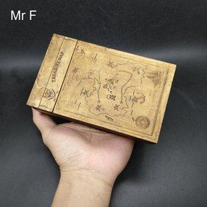 재미있는 미로 나무 퍼즐 상자 장난감