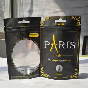 3.5G Paris OG sans odeurs Sacs Paris og Proof enfant Sac Stand Up Pouch sec Herb Fleurs Livraison gratuite