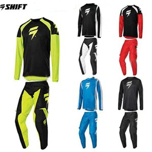 SHIFT 2020 new off-road motorcycle racing suit locomotive male off-road suit stunt riding suit men and women spring and autumn