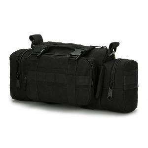 Fishing Bag Large Capacity Multi-Purpose Bait Fishing Bag Outdoor Shoulder 35 x 14 x 18Cm Reel Storage