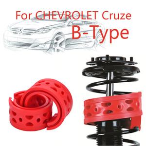 Jinke 1 pair Ön Şok SEBS Size-B Tampon Güç Yastık Emici Bahar Tampon Için Chevrolet Cruze