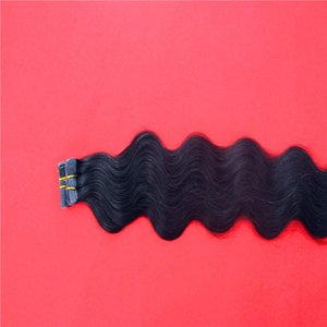 """Pure Color Straight PU Skin Weft Tape In 8A Remy Human Hair Extensions 16"""" 20"""" 24"""" 100g 40pcs Hair Extensions"""