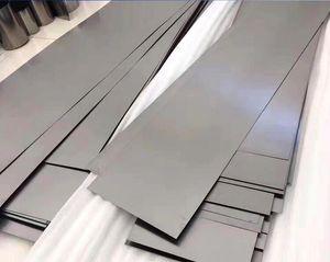 Fábrica Custom Gr1, Gr2, Gr3, Gr4, Gr5, Gr7, Gr9 chapa de titânio placa ASME Sb 265 Gr2 placa de titânio / 100mm de largura folha de titânio