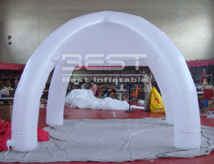 6m Special design Removable wall with zipper inflatable spider tent with 4pcs Legs for events on sale