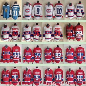 Montréal Canadiens Inverno Classic Classic # 27 Alex Kovalv 23 Ken Dryden 18 Serge Savard 16 Henri Richard 1 Jacques Plantes Men Hockey Jersey