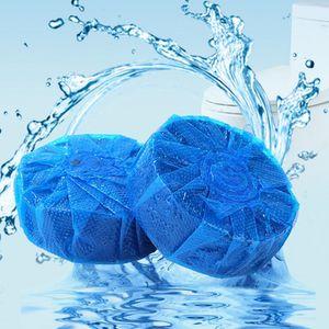 블루 버블 화장실 바오 자동 세척 성령 청소기 탈취제 블록 물 필터 청소기