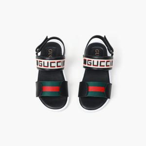 mode Nouveau Casual Sandales d'été pour les enfants garçons et les filles bleu et noir sandales tendance