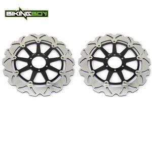 BIKINGBOY Front Brake Discs Disks Rotors For Aprilia Mana 850 07-11 Mana 850 GT 09-13 Tuono 1000 R 03-09 RSV4 1000 R 09-12