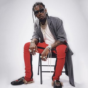 Mens Streetwear Fashion Ankle Zipper Double Stripe Track Pants fear of god contrast color drawstring fog long pants hiphop trousers