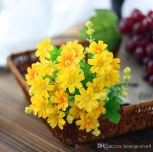 fiori artificiali fiori artificiali 28 decorazioni di nozze Lan Ju fiori decorazione della casa della decorazione del salone di seta offerte speciali all'ingrosso