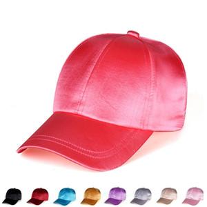 Alla moda di colore solido berretto da baseball del partito di svago all'aperto sulla spiaggia del sole cappello di moda protezione del sole del cappello di viaggio T3I5620 uomini e donne