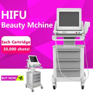 Medical Grade Real Hifu 3 Patronen Hochintensiver fokussierter Ultraschall HIFU Face Lift HIFU-Maschine zur Gesichts- und Körperbehandlung